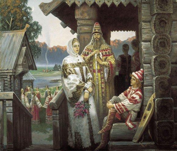 folclore ruso: