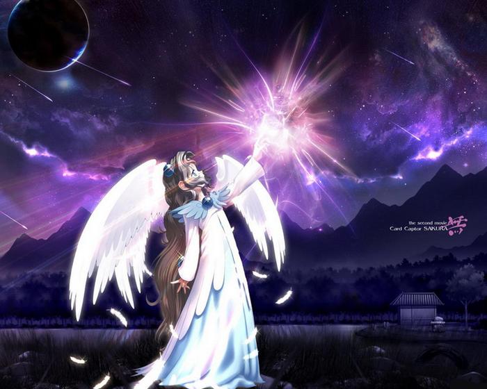 Картинки аниме магия - 55c45