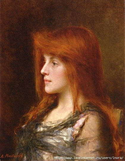 Portrait of a Young Beauty, Alexei Alejewitch Harlamoff (421x544, 43Kb)