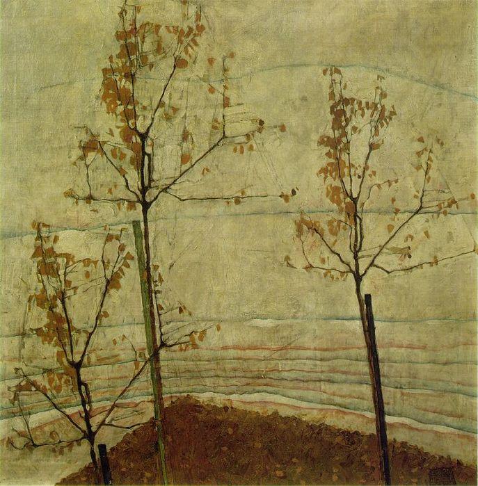 Эгон Шиле autumn (687x699, 108Kb)
