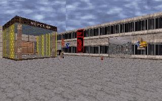 Площадь SoX'a (куда ж без культа личности)) и ВИПклуб с супермаркетом (вход уже на другую станцию)