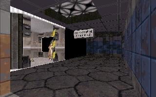 ...и вход в белый дом) заброшенная станция с мутировавшей девкой-жертвой пришельцев))