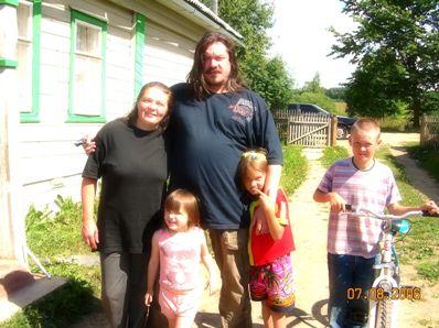 семья отца Андрея