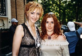 Алена Макси и Ирина Сиротинская