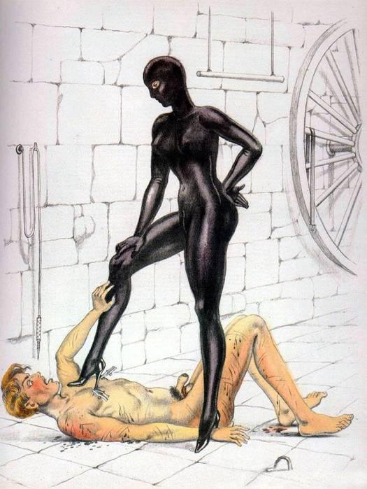 Рисунки раб и госпожа 83807 фотография