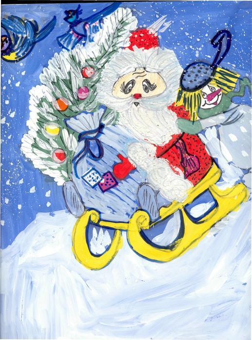 возбуждении дела фото детскик рисунки дед мороз шагая ногу