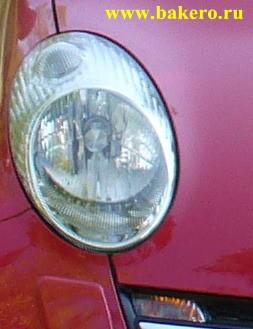 Nissan Micra -фары и габаритные огни