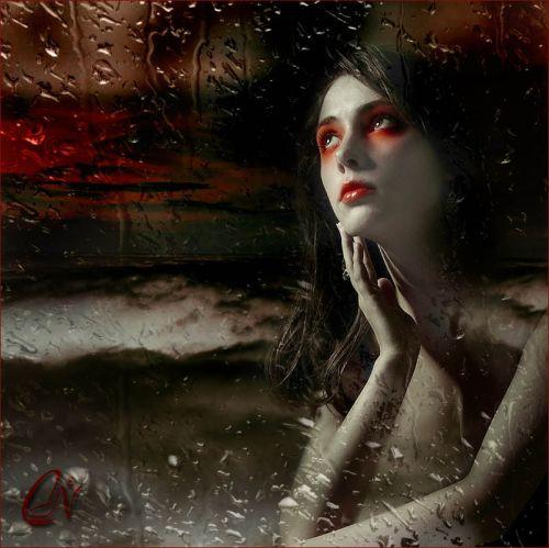 странная девченка с красными тенями (500x499, 43Kb)
