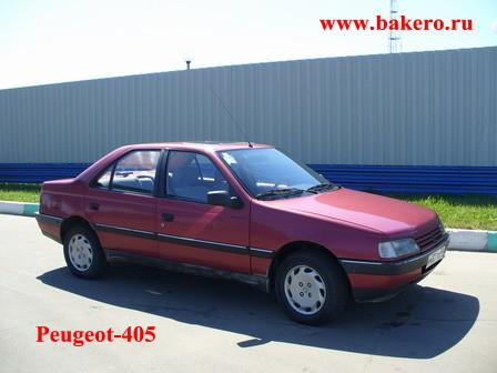 Peugeot-405- автомобиль 1988 года в Европе