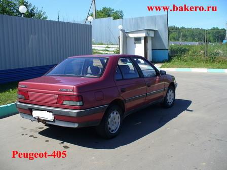 Peugeot-405: вид задней части