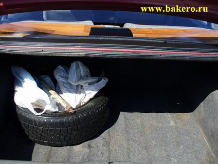 Пежо-405: багажник