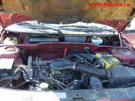 Пежо-405: двигатель и моторный отсек
