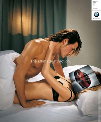 Virilité de l'homme vu par BMW.