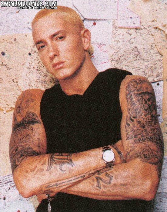 Eminem тату