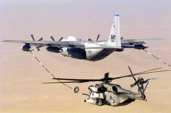 может ли вертолет дозаправиться в воздухе от самолета экономический