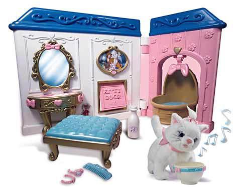 Домик для игрушечной кошки