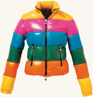 Дутые куртки и пуховики с блеском красота самое