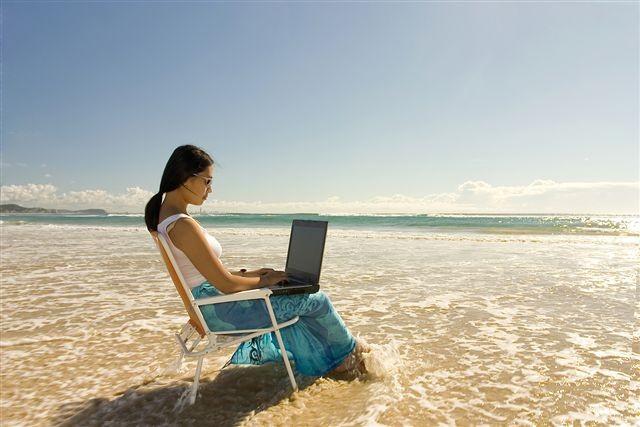 Море и компьютер