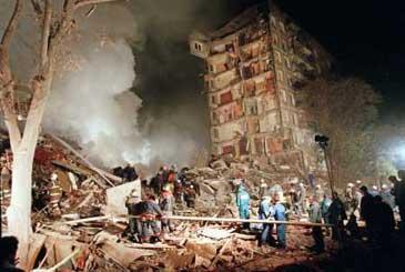 взрывы домов в Москве