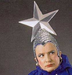 Верка сердючка шапка со звездой