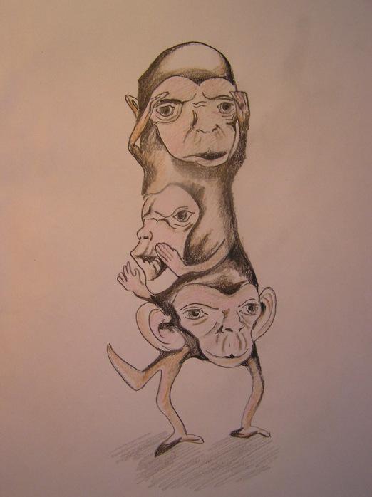 monkey'$ (522x698, 86Kb)