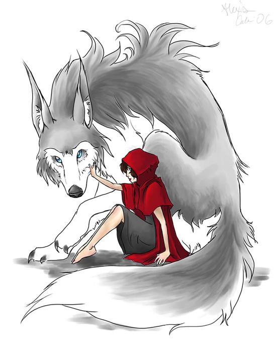 Серый Волк энд Красная шапочка...