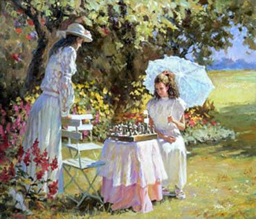московская аристокрастия в прошлом веке играла в шахматы, в наши дни играет в и-Го