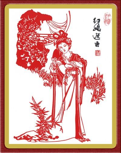 Цзяньчжи - искусство вырезания из бумаги
