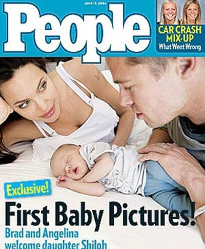 фото дочери Шило Анджелины Джоли и Брэда Пита (400x486, 127Kb)
