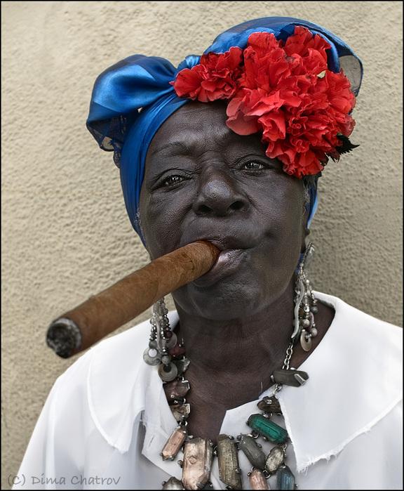 Smoking Lady 1 (Дима Шатров)