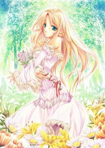 аниме блондинки картинки: