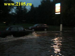 Наводнение в Мытищах