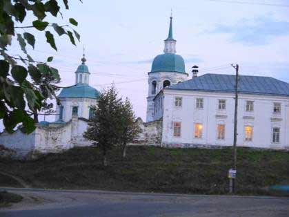Енисейск Рождественская церковь
