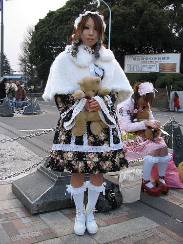 Молодежная мода японии часть flash