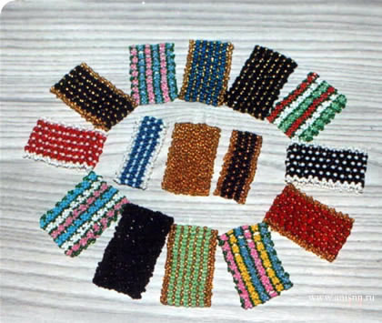браслеты из бисера - Интересные полезности.
