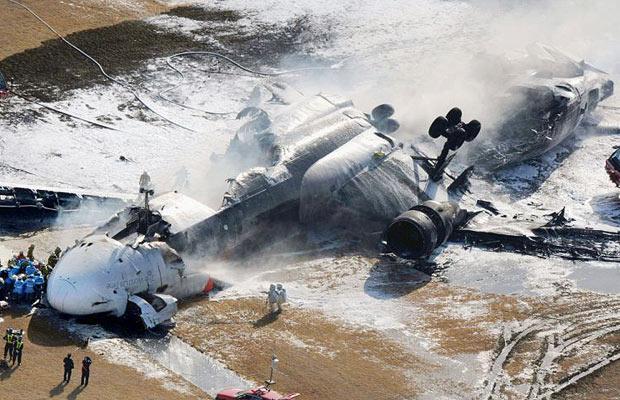 Авария самолета в Японии