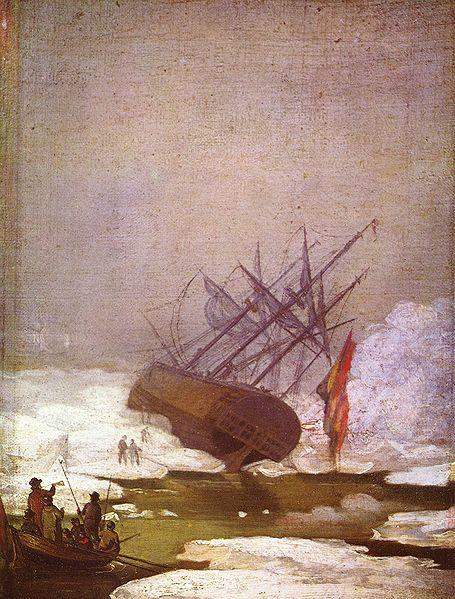 Wrack im Eismeer (1798)