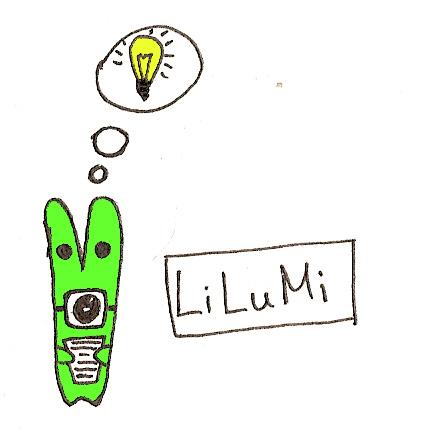 Lilumi - зеленый заяц с лампочкой