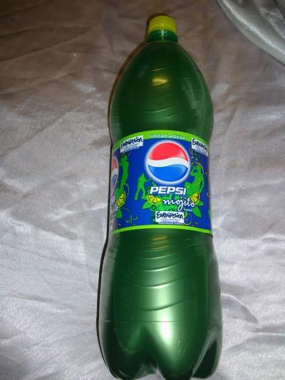 Рекламная акция Pepsi Cola (Пепси Кола) «ПЕПСИ МОХИТО в подарок!»