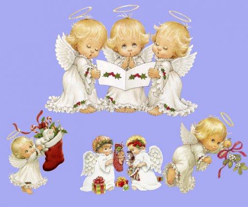 рисованные ангелочки | Записи...