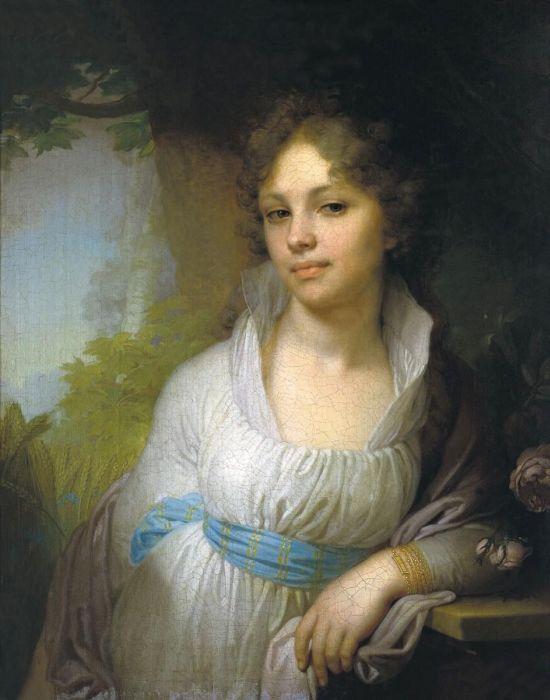 """Один из посетителей просто...  6. В России тоже есть свой  """"проклятый шедевр """".  О портрете Марии Лопухиной..."""