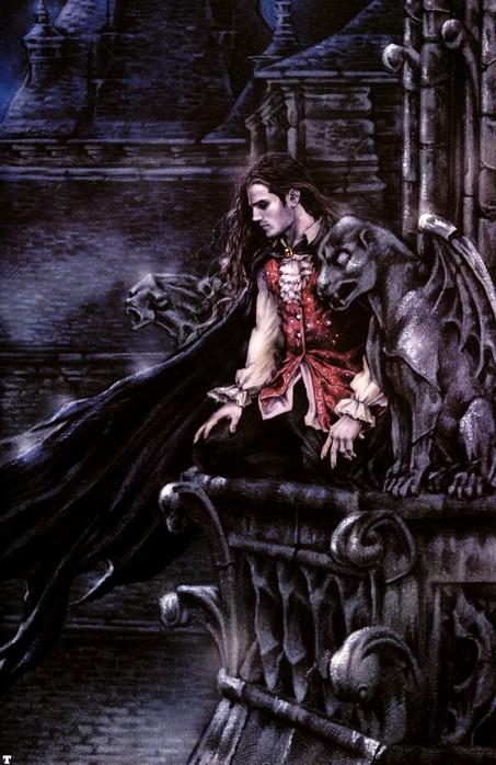 рисунки вампиров: