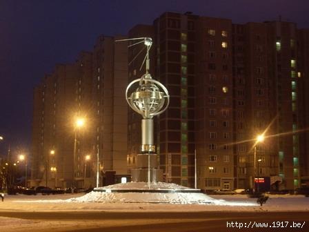 Королев: памятник первому искусственому спутнику Земли