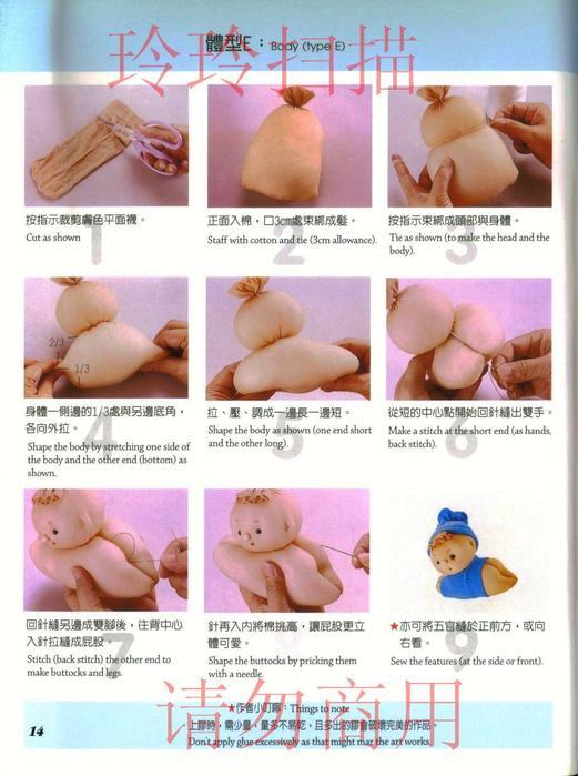 Как сделать куклу своими руками инструкция