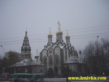 Городское путешествие: Храм Николы в Хамовниках
