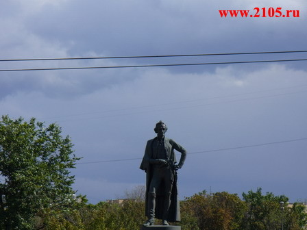 Москва: Памятник  Александру Васильевичу Суворову