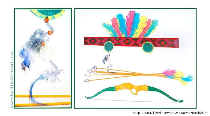 Перья для костюма индейца своими руками 76