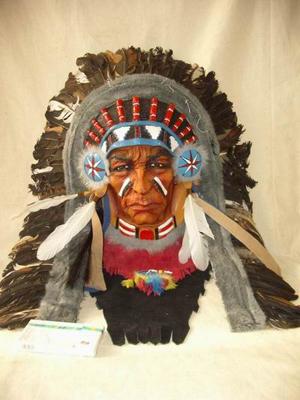 Костюм североамериканских индейцев.