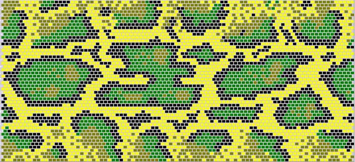мозаика в ванной мозаичный