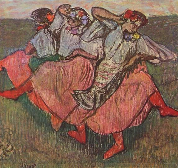 Эдгар Дега Русские танцовщицы